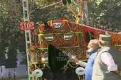 Modi Flags Off World's First Diesel To Electric Converted Locomotive