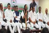 Congress legislators joined TRS only for pecuniary gain, says Uttam