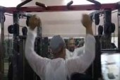 Watch: Asaduddin Owaisi turned Gym Boy During Election 2019 Campaign