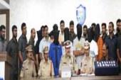 Watch: Nine Member Dacoity Gang Nabbed