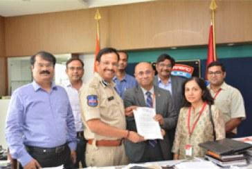 """Cyberabad Cops Launch """"Nighanetram"""""""