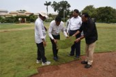Officials Inspect Public Gardens For TS Formation Day Event