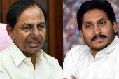 KCR, Jagan Attend Sharada Peetham