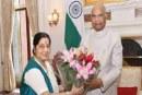 Sushma Swaraj appointed Andhra Pradesh Governor?