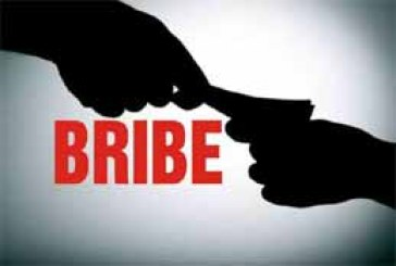 SI Caught While Taking Bribe In Police Station