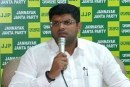 Cong Slams Dushyant Chautala For Tie-Up With BJP